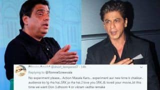 Ronnie Screwvala Hints at Shah Rukh Khan's Exit From Rakesh Sharma's Biopic 'Saare Jahan Se Achcha,' Twitterati Support His Decision