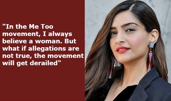 Rajkumar Hirani Sexual Harassment Row: Sonam Kapoor Asks 'What if Allegations Aren't True?'