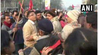 मजदूर संघों की देशव्यापी हड़ताल: पश्चिम बंगाल में TMC और CPM के बीच झड़प, छिटपुट हिंसा की घटनाएं