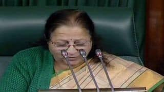 Lok Sabha Speaker Sumitra Mahajan Suspends 26 AIADMK MPs For 5 Sittings