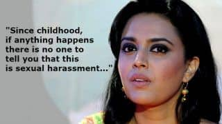 Swara Bhasker Says it Took Her 6-8 Years to Realise a Director Sexually Harassed Her in The Past