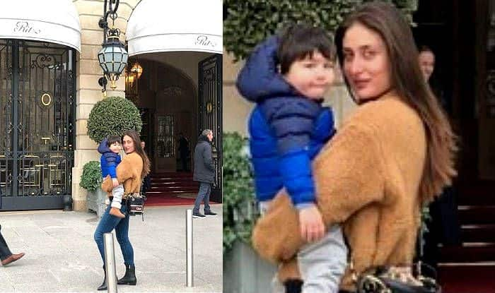 Taimur Ali Khan's Latest Picture With Mom Kareena Kapoor Shows Both Are Born Posers