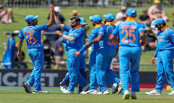 NZ Vs Ind पहला वनडे : शमी के साथ स्पिनर्स ने मचाया धमाल, बैटिंग पिच पर एक नहीं चली कीवी बल्लेबाजों की