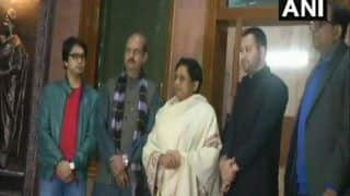 UP: 'Laluji Wanted an SP-BSP Alliance Even For Assembly Elections,' Says RJD Leader Tejashwi After Meeting Mayawati; to Meet Akhilesh Today