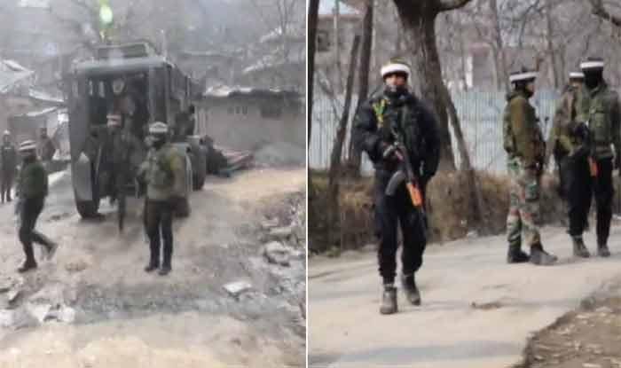 जम्मू-कश्मीर: पुलवामा जिले में एनकाउंटर में तीन आतंकवादी ढेेर, सेना का एक जवान घायल
