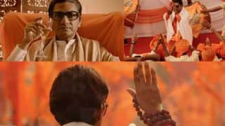 Thackeray Title Song Features Nawazuddin Siddiqui Showing Off The Grandeur of Shiv Sena Supremo, Watch