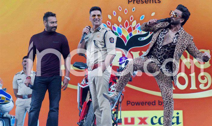 Umang Awards 2019: रणबीर-आलिया के बीच दिखीं नजदीकियां, पुलिस वालों ने रणवीर सिंह को उठाकर दिया पोज़