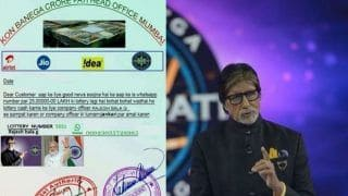 Fake WhatsApp Alert: Kaun Banega Crorepati Lottery Message Promising Rs 25 Lakh is Bogus- Take a Look