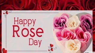 Happy Rose Day 2019: गुलाबी हुआ समां, लाल गुलाब देने से पहले ऐसे कहें दिल की बात...