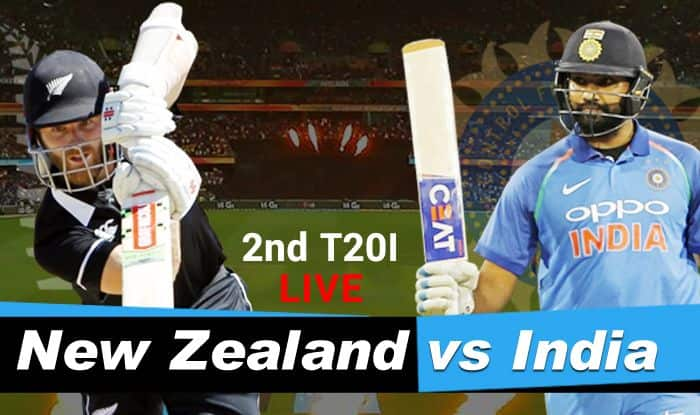 India vs New Zealand 2nd T20I