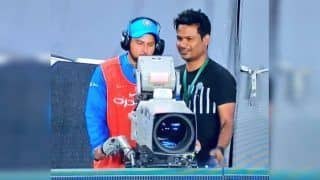 2nd T20I India vs New Zealand: When Kuldeep Yadav Turned Cameraman at Eden Park | PICS