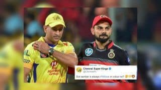 IPL 2019: Chennai Super Kings And Royal Challengers Bangalore Involved in Twitter Banter Ahead of Opener