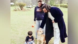 Taimur Ali Khan Enjoys His Day Chilling With Parents Saif Ali Khan And Kareena Kapoor Khan at The Pataudi Palace, See Pic