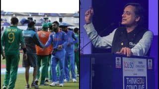 Pulwama Attacks: Congress Minister Shashi Tharoor Speaks on India-Pakistan ICC World Cup 2019 Tie, Gives Kargil Example | SEE POST