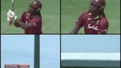 'Out of The Park'! Gayle Smokes 121 Mts-Long Six Enroute His 24th ODI Ton | WATCH