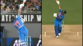 India vs New Zealand 2nd T20I: Rishabh Pant's One-Handed Six Leaves Tim Southee Stunned at Eden Park | WATCH VIDEO
