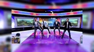 India vs New Zealand 3rd T20I: Gautam Gambhir Has Fun With Harbhajan Singh, VVS Laxman in The Studio | WATCH