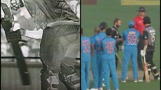 India vs New Zealand 2nd T20I: Krunal Pandya Gets Daryl Mitchell, Kiwi Batsman Controversially Given Out LBW Following Bizarre Umpiring Blunder | WATCH VIDEO