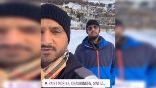Chennai Super Kings Harbhajan Singh Makes Strange Request to Mumbai Indians Yuvraj Singh Ahead of IPL 2019 in Switzerland | WATCH VIDEO