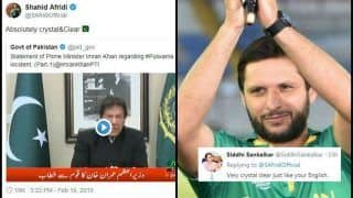 'Crystal & Clear': Shahid Afridi Supports Pakistan PM Imran Khan's Warning to India Over Pulwama Attack Response, Twitter TROLLS Cricketer