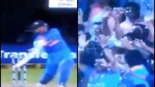 India vs Australia 2019: MS Dhoni Smashes a Huge Six Off Nathan Coulter Nile   WATCH VIDEO
