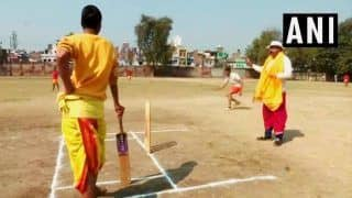 Varanasi: Youngsters in Dhoti And Kurta Give Cricket a Sanskrit Touch