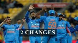 2nd T20I India vs New Zealand Predicted XI: Mohammed Shami For Bhuvneshwar Kumar, Shubman Gill For Vijay Shankar, Changes Rohit Sharma-Led Men in Blue Should Make at Auckland