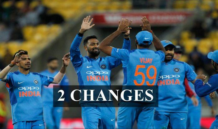 2nd T20I India vs New Zealand