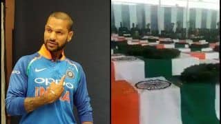 Pulwama Terror Attack: Shikhar Dhawan Shares Video of Martyrs Funeral, Shows Support | WATCH