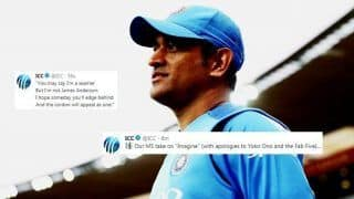 3rd T20I: MS Dhoni Fans Hack ICC Official Twitter Handle During India vs New Zealand Series Decider in Hamilton? SEE HILARIOUS POSTS