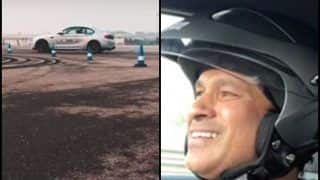 Sachin Tendulkar Driving a BMW Around an F1 Track Will Make Lewis Hamilton Proud | WATCH VIDEO