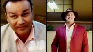 India vs Australia 2019: Matthew Hayden Takes a Dig at Virender Sehwag in Hindi Over Babysitting Promotional Ad | WATCH