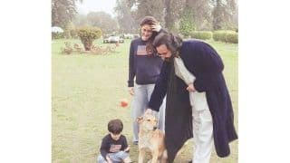 Taimur Chills With Parents Kareena And Saif at The Pataudi Palace, See Pic