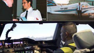 Khawaja Turns Pilot, Takes Control of World's Largest Passenger Aircraft   WATCH VIDEO