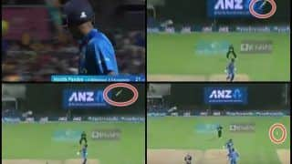 3rd T20I India vs New Zealand: Hardik Pandya Loses His Bat And Wicket as Kane Williamson Completes Brilliant Catch in Hamilton | WATCH VIDEO