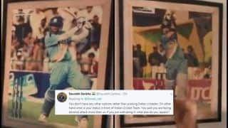 Pakistan Fan Gets TROLLED After Giving Glimpse of Sachin, Dravid Photos at Cricket Academy  WATCH