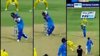 Virat Kohli Smashes Nathan Coulter Nile For Three Sixes in a Row During 2nd T20I Against Australia in Bengaluru | WATCH VIDEO
