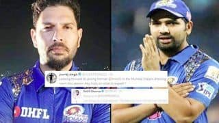 IPL 2019: Yuvi Excited to Join MI, Rohit Gives Him Advise   SEE POST