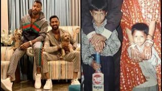 Hardik Pandya Shares Childhood Pictures With Brother Krunal Pandya After T20I Series Against Australia | SEE PICS