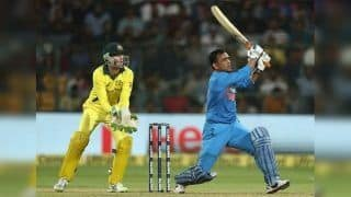 India vs Australia 1st ODI Highlights: Dhoni, Jadhav Hit Fifties as India Beat Australia by 6 Wickets to Take 1-0 Lead in Hyderabad