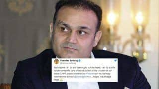 Pulwama Terror Attack: Virender Sehwag Offers to Take Care of Education of Martyrs' Children | SEE POST