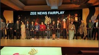 Outstanding Woman Athletes And Sportspersons Recognised at ZEE News Fair Play Awards