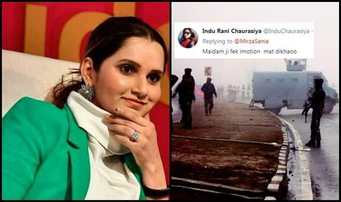 Pulwama Attack: Sania Mirza Extends Support For Families of