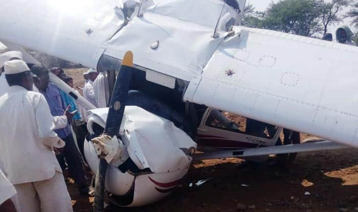 Pune: Trainee Aircraft of Carver Aviation Crashes Near Indapur, Pilot Injured