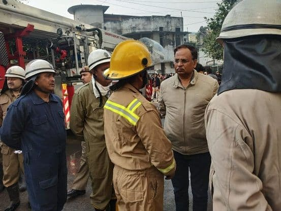 Delhi Hotel Fire: 17 killed, Most Died of Suffocation; Delhi Health Minister Satyendar Jain Assures Strict Action