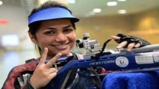 India's Apurvi Chandela Wins Gold at Shooting World Cup, Sets New Record