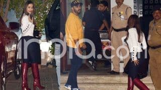 Malaika Arora And Arjun Kapoor Spotted at The Airport as They Jet Off to Switzerland to Attend Akash Ambani AndShloka Mehta's Pre-Wedding Bash, See Pictures