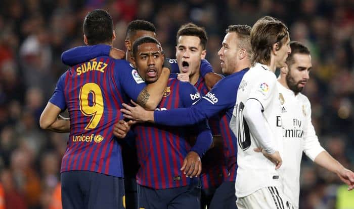 Copa Del Rey El Clasico: FC Barcelona Draw 1-1 With Real Madrid in 1st Leg of Semifinal