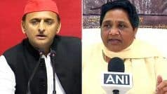 BSP And SP Seal Seat-sharing Deal in UP For LS Polls, to Contest 38, 37 Seats Respectively