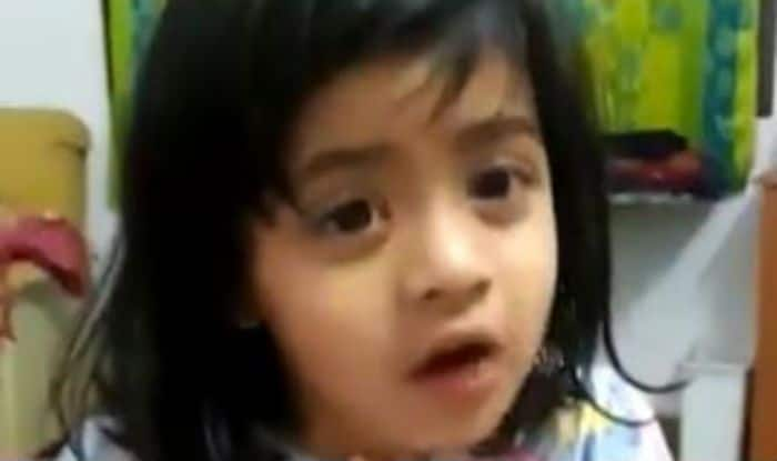 Major Akshay Girish Kumar's daughter Naina